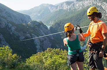 Zipline in Croatia